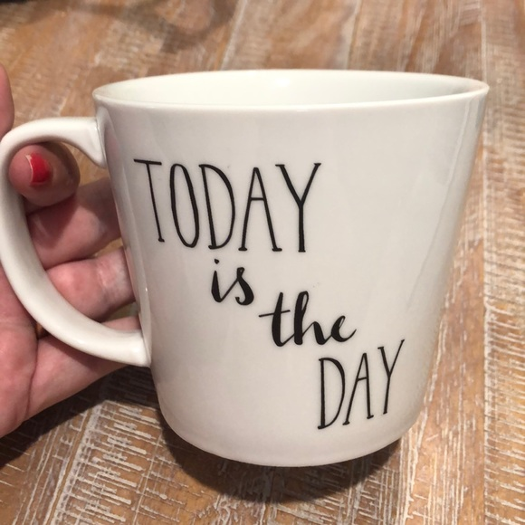 Today Is The Day Coffee Mug by The Cellar